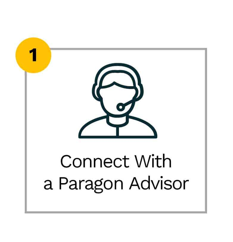 Connect with a Paragon Advisor