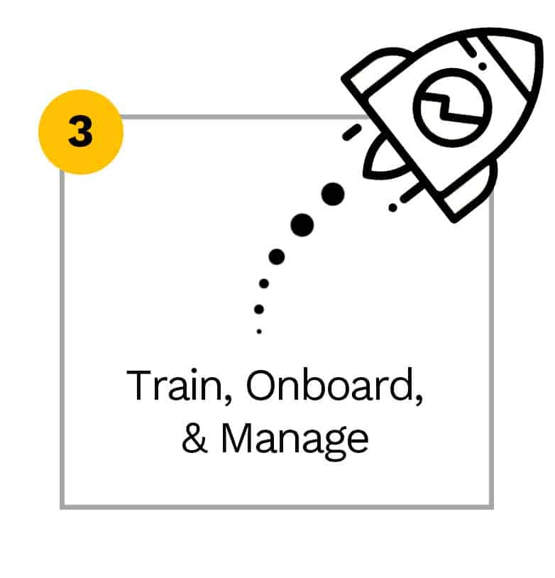 Train, Onboard, & Manage